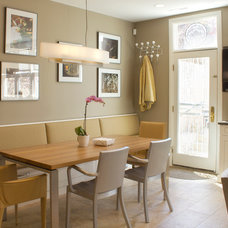 Transitional Dining Room by The Coveted Kitchen