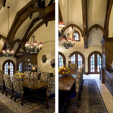Traditional Dining Room by Michael Matrka, Inc