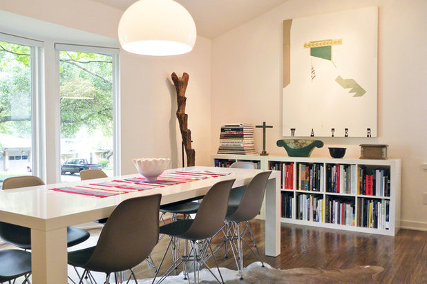 Midcentury Dining Room by Sarah Greenman