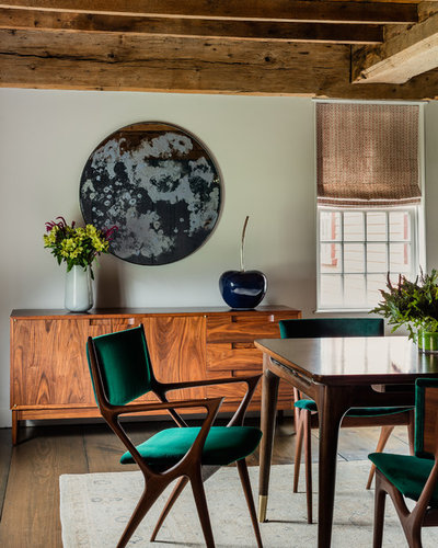 Farmhouse Dining Room by ACQUIRE
