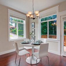 Craftsman Dining Room by Lisa Lucas Design