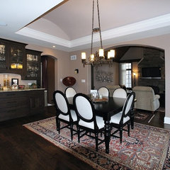 dining room by Matthies Builders
