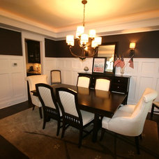 Traditional Dining Room by Matthies Builders
