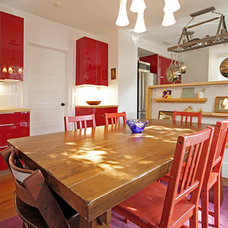 Contemporary Dining Room by Kaleidoscope Design Build, LLC