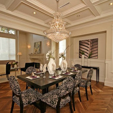 Traditional Dining Room by Renowitzky Studio