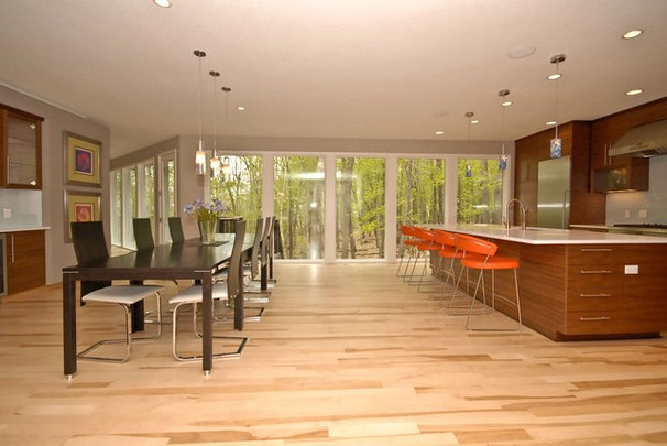 Contemporary Dining Room by Vision Homes & Remodeling
