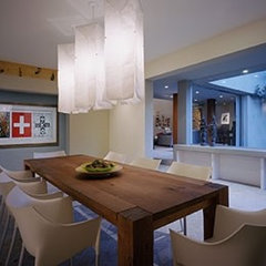 modern dining room by DesignARC LA, Inc.