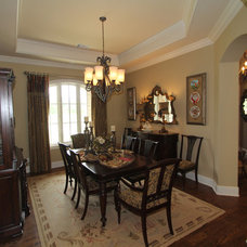 Traditional Dining Room by McReynolds Designs