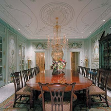Traditional Dining Room by McIntosh Poris Associates