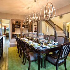 Traditional Dining Room by Mary DeWalt Design Group