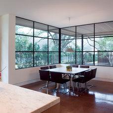 Modern Dining Room by Bernbaum-Magadini Architects