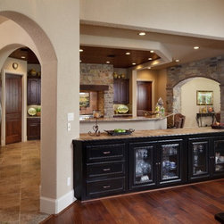 Houston Traditional Kitchen Pass Through Dining Design Ideas Pictures Remod