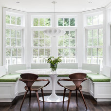 Transitional Dining Room by LDa Architecture & Interiors