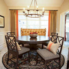 Traditional Dining Room by South Point Construction