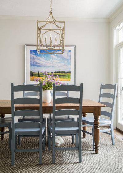 Landhausstil Esszimmer By Jamie Keskin Design