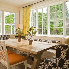 Traditional Dining Room by GR Home/Graciela Rutkowski Interiors