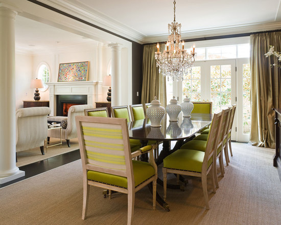 columns separate rooms home design ideas, pictures, remodel and decor