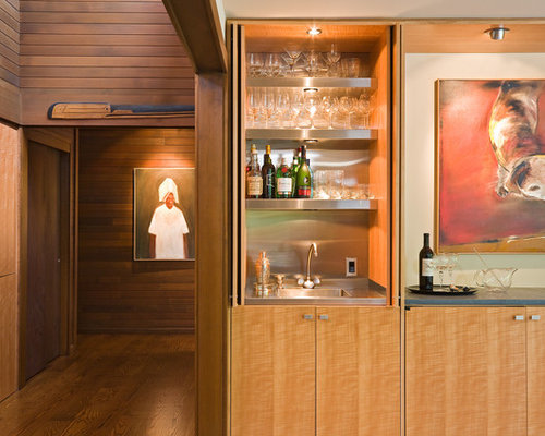 Hidden Wet Bar Home Design Ideas, Pictures, Remodel and Decor