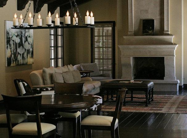 Mediterranean Dining Room by Carson Poetzl, Inc.