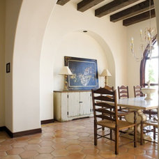 Mediterranean Dining Room by Clay Imports