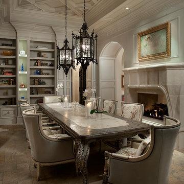Mediterranean Dining Room