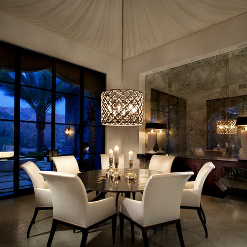 dinette lighting fixtures. inspiration for a mediterranean dining room remodel in other with beige walls dinette lighting fixtures e