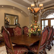 Mediterranean Dining Room by P. Chandler, Photographer