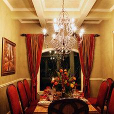 Mediterranean Dining Room by Diamante Custom Homes