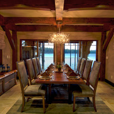 Contemporary Dining Room by Griggs Custom Homes, Inc