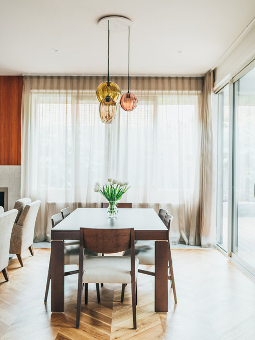 Contemporary Dining Room In Melbourne.