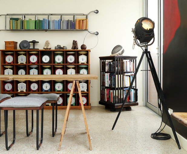 Industrial Comedor by Kate Hansen Photography