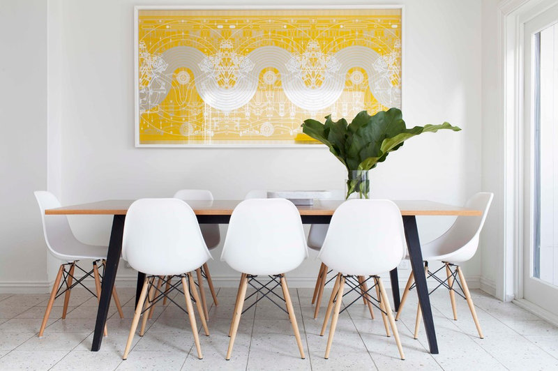 Contemporary Dining Room by Melinda Clarke Interiors & Events