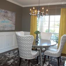 Contemporary Dining Room by Decorum Home + Design