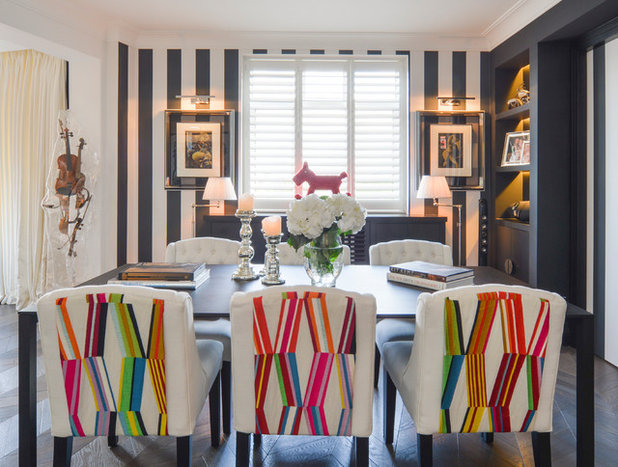 Eclectic Dining Room by spacetime