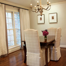 Traditional Dining Room by Marie Flanigan Interiors