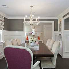 traditional dining room by Fiorella Design