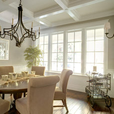 Traditional Dining Room by Allwood Construction Inc