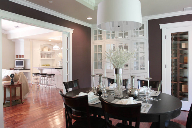 Traditional Dining Room by Studio S Squared Architecture, Inc.