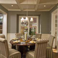 traditional dining room by JCA ARCHITECTS