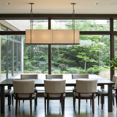 modern dining room by CJ Design Group, LLC