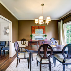 Traditional Dining Room by FJU Photography