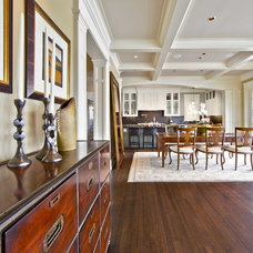 Traditional Dining Room by Shuler Architecture