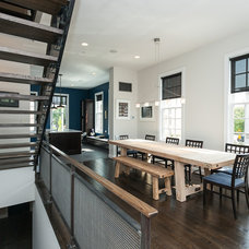 Contemporary Dining Room by Urban Design Group, LLC