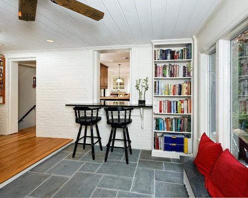 Slate And Wood Floors