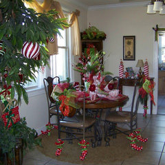 eclectic dining room Merry Merry Christmas