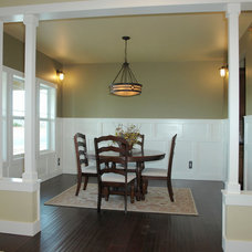 Traditional Dining Room by Bungalow House Plans