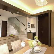 Contemporary Dining Room by Ample DESIGN