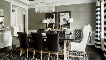 Metallic Cowhide Rugs - Silver on Black