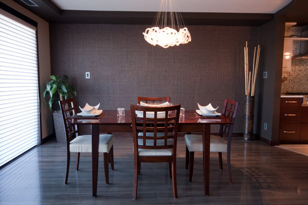 Contemporary Dining Room by Metric Interior Design Inc.