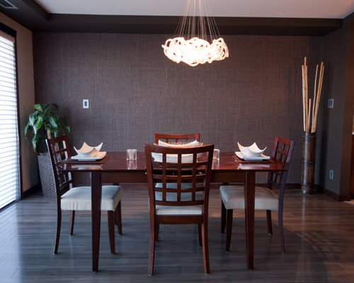 Houzz Wallpaper Dining Room: Linen Wallpaper